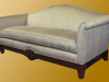 Sofa w/ carving