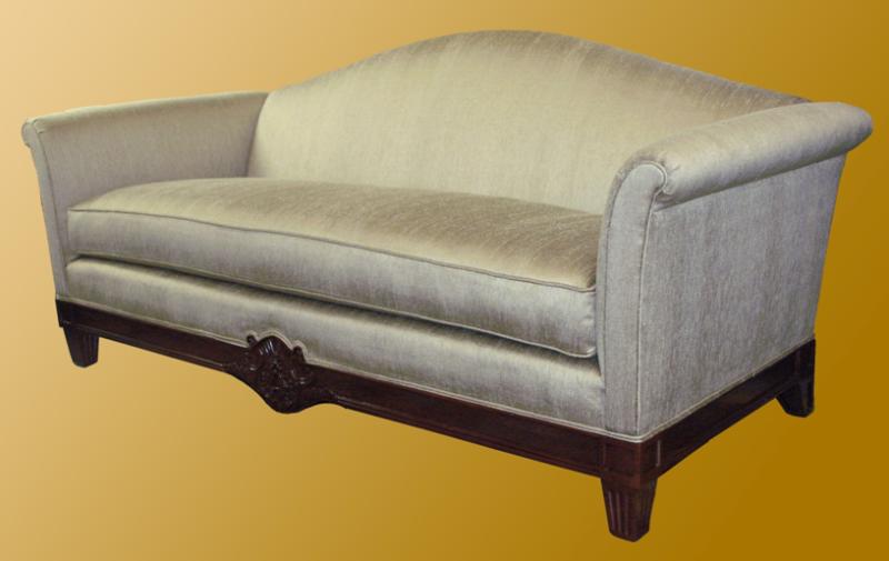 Sofa w/ carving